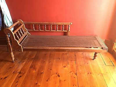 Antique Chaise Lounge Victorian