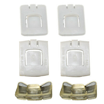 2Sets Seat Rail Runner Clip Slider Guide Piece For VW Golf MK1 MK2 MK3 Corrado