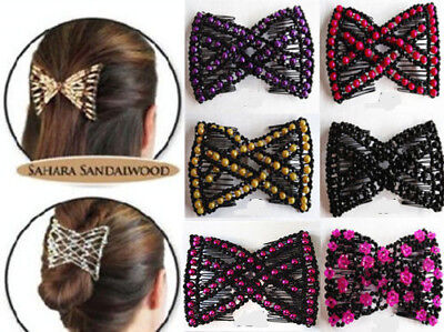 Brand New Magic Hair Comb Magic Clips Double Hair Clip Any Colors Styles