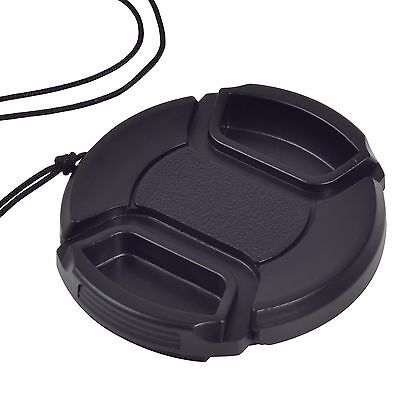 52mm Front Lens Cap Hood Cover Snap-on For Canon Sony Olympus Nikon Camera