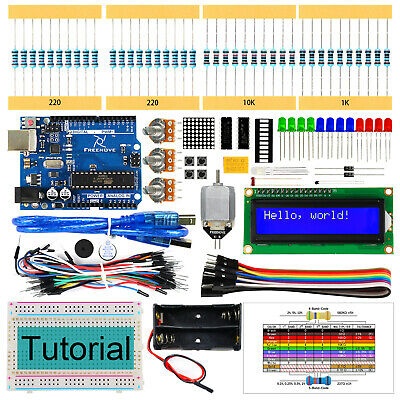 Freenove Super Starter Kit with UNO R3 (Arduino-Compatible) Breadboard Projects