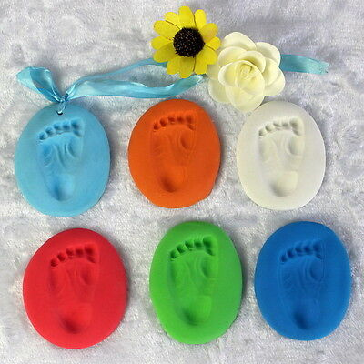 Baby Handprint  Imprint Kit Casting Parent-child hand inkpad fingerprint