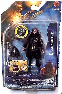 "Pirates of the Caribbean: 'Blackbeard' OST 3.75"" Action Figure 2011 Series 2"