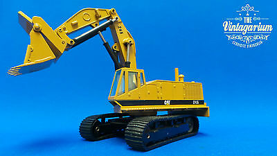 NZG 160-177 Cat 245 Tracked Excavator Front Shovel Diecast in 1:50 Scale