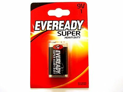 Eveready PP3, 6F22, 9 Volts Heavy Duty Batteries  6F22