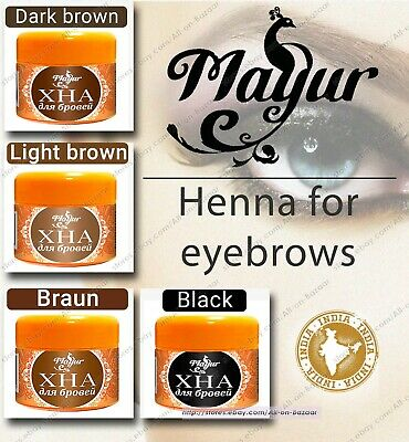 Mayur - Henna for eyebrows and body