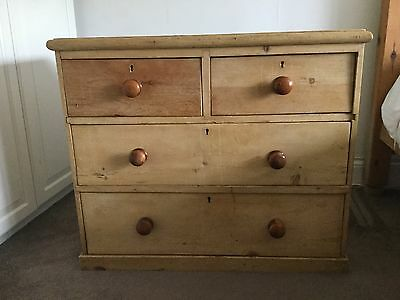 Victorian Honey Coloured Pine Chest of Drawers