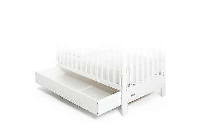 GROTIME DRAWER KIT - OPTIONAL DRAWER for HANNAH & HUDSON COTS - WHITE BABY- NEW
