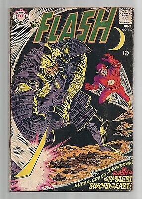 The Flash #180 1968. 5.0 to 6.0 approx.