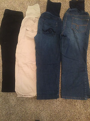 Maternity Lot - 4 Capris, size Small