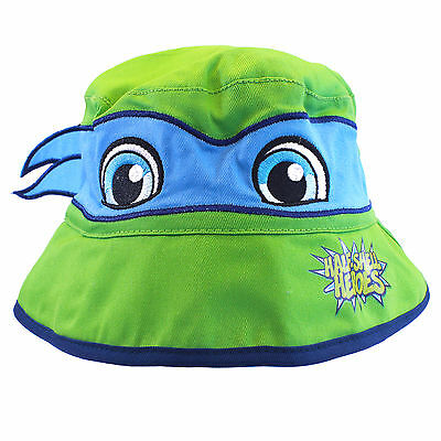 Official Licensed Boys Teenage Mutant Ninja Turtles Bucket Hat Age 1-6 Years