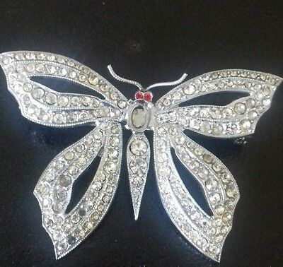 Sterling Silver Butterfuly Brooch