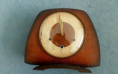 Vintage Smiths chiming mantel clock ( not working)