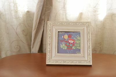Picture silk Embroidered Chinese style picture and frame