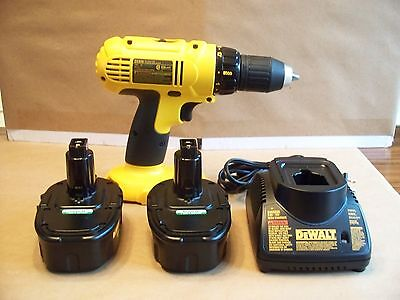 Dewalt 18V Compact 1/2'' Cordless Drill Model Dc970 In Excellent Condition.