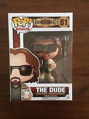 Funko Pop! Movies The Big Lebowski The Dude Rare Vaulted Vinyl Figure New In Box