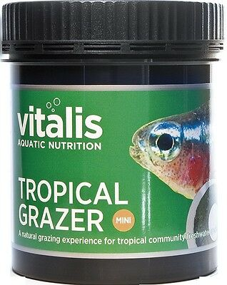 Vitalis New Era Tropical Mini Grazer Aquarium Fish Food 110g or 290g