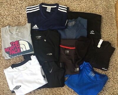 MENS SPORTS WEAR BUNDLE, Includes Adidas, Nike, Karrimor, North Face - 10 Items.