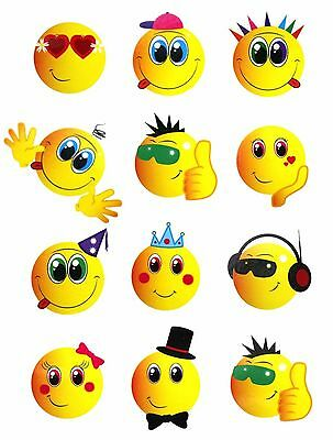 72 Childrens Temporary Tattoos Super Hero Smiley Kids Loot Party Bag Fillers