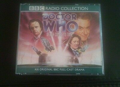DOCTOR WHO Death Comes to Time - AUDIO BOOK 3x CD