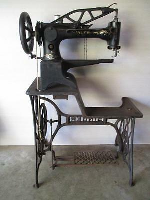 Antique Singer 29-4 Leather Cobbler Patcher Industrial Sewing Machine Complete