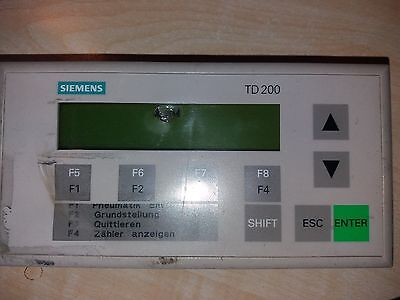 Siemens TD 200 Display Unit