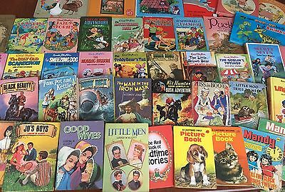 Huge Joblot Vintage Children's Books Enid Blyton Disney Ladybird 60+ Items