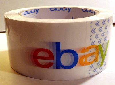 2 new unused rolls of Ebay packing tape, great for packaging your Ebay items
