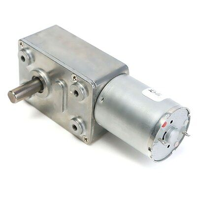 12V 2Rpm Reversible High Torque Turbo Worm Geared Dc Motor