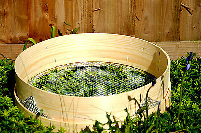 Heavy Duty Garden Riddle  Soil Compost Sieve - Mesh 2,3,4,6,8 and 10mm