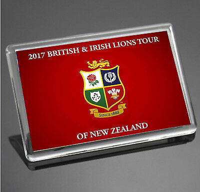 British & Irish Lions Team Creast Rugby New Zealand Tour 2017 Fridge Magnet