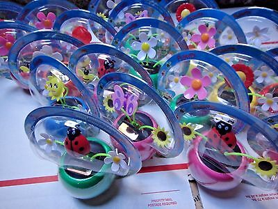 6X-Auto car swing Solar Powered Flip Dancing Animals/Flower NO BATTERY to dance