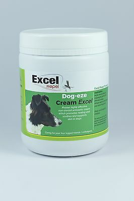 Dog-Eze Cream EXCEL - Antiseptic Cream For Broken, Itchy Skin and Scabs in dogs