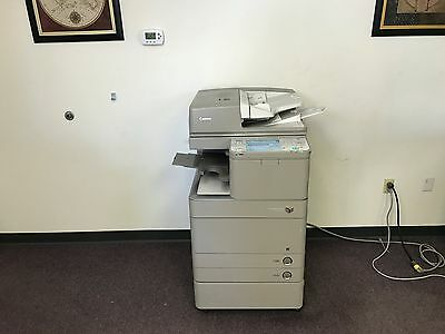 Canon Imagerunner Advance C5045 Color Copier Network Printer Scan Fax Finisher
