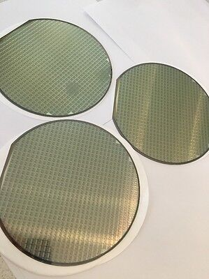 "6"" Silicon Wafer , Set 3 , From USA"