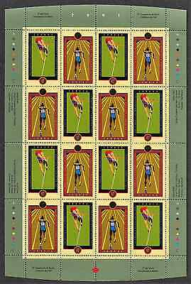 Canada Stamps - Full Pane of 16 - IAAF World Championships #1907-08 - MNH