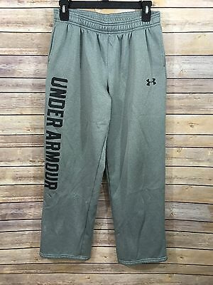 Under Armour Sweat Pants SZ Youth XL Boys Gray Loose Fit Athletic