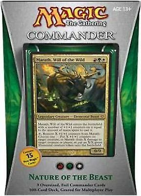 Magic MTG Cards Lot Nature of the Beast Commander 2013 BRAND NEW SEALED
