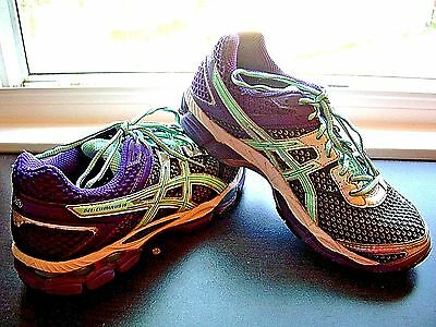 Asics Gel-Cumulus 16 Womens Running Shoes Sneakers T489N Size 9