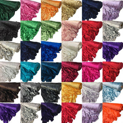 Premium CRUSHED VELVET FABRIC Craft Stretch Velour Material 150cm Extra Wide