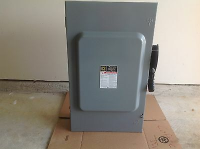 New Square D H364N Safety Heavy Duty Switch 200amp600V.3pole. Genuine SElectric.