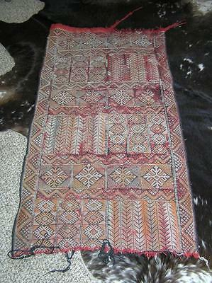 """Antique Hand woven Middle Eastern area rug Prayer Rug 25"""" x 48"""""""
