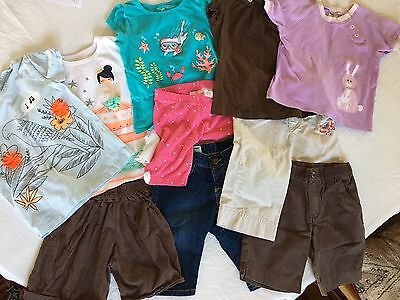 Lot Of Summer Play clothes, 10 Pieces, Size 3T