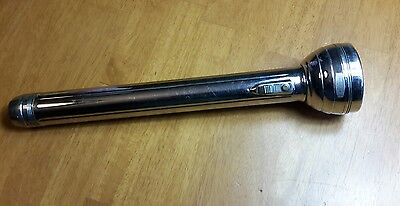 """Vintage Winchester Flashlight, Large Focusing Dial, 5 Cell, 15"""""""