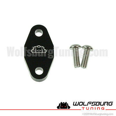 VW MK4 SAI Secondary Air Injection Block off delete plate 1.8T 1.8 T 1999-2006