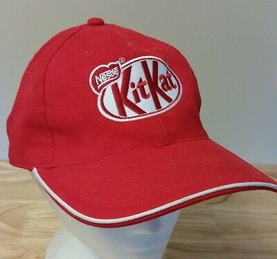 Nestle Kit Kat Chocolate Candy Bar Baseball Cap Hat