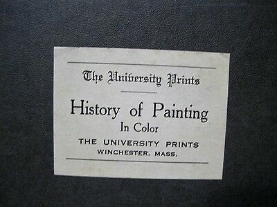 tHE uNIVERSITY pRINTS hISTORY OF PRINTING IN COLOR