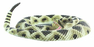 Realistic Big Rattlesnake Novelty Detailed Animal Large Fake Snake Toy Reptile