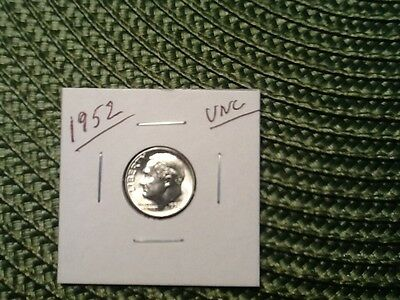 1952-P-Roosevelt Dime in Gem Brilliant Uncirculated