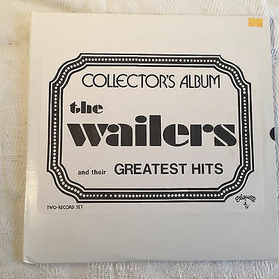 The Wailers - Collectors Album 2 LP set - Etiquette records - hard to find VG+
